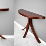 Bespoke Jarrah Pirouette Table