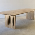 Marri Dining Table 3000 x 1180 x 750 Commissioned by a client in Perth Western Australia