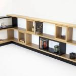 Custom Oak Bookcase.
