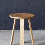 Wonton Stool in American Oak D360 x 450mm Photo- Bo Wong