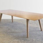 ST1010 Dining Table in American Cherry. 2800 x 1100 x 740mm