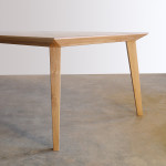 Origami Table in American Oak- Detail