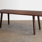 Banksia Tce Dining Table in Jarrah and Ebonised Jarrah