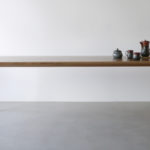 Mercator Way Dining Table. 2400 x 1000 x 740mm Solid American Oak