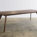 Antoci Dining Table. Solid American Walnut. Dalkeith, Western Australia