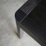 Irvine Dining Table. Ebonised American Walnut. 2800 x 1050 x 750mm. Perth, Western Australia