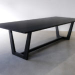 Solid Ebonised American Oak, 2800 x 1100 x 740