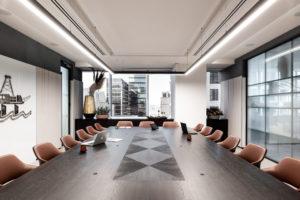 Quadrant Energy- Boardroom Table- Scorched Jarrah