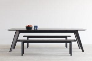 Vista St Table- Ebonised Walnut