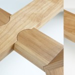 Crossbow coffee table joinery