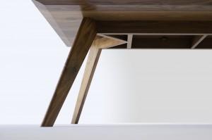 Vista St Dining Table- Underside Detail