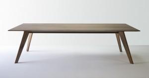 Vista St Dining Table. American Black Walnut, 2700 x 1100 x 740mm