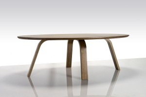Over the Falls coffee table in American Walnut. 1180 x 590 x 400mm
