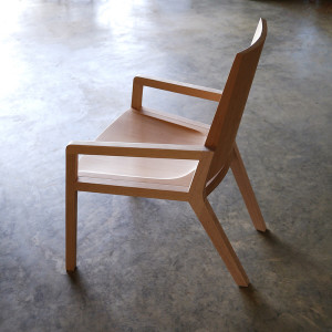 Handcrafted Chair, Recycled Midland Oregon and Victorian Ash.