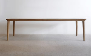 Mercator Way Dining Table 2700 x 1100 x 740mm American White Oak