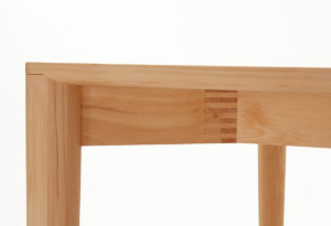 Pieman Table in Hydrowood Celery Top Pine