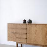Wembley house credenza, American Oak, Custom design, Nathan Day, Perth