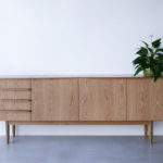 Wembley house credenza, American Oak, Custom design, Nathan Day, Perth