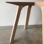 Over The Falls Dining Table, Base Detail