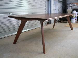 Antoci Dining Table. Solid American Walnut. Dalkeith, Western Australia