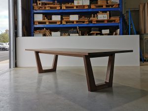 Clairault Dining Table- Handcrafted in Solid American Walnut