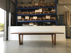 Clairault Dining Table- Handcrafted in Solid Tasmanian Blackwood.