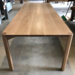 Irvine Dining Table. Solid American Oak 2700 x 1000 x 740mm. North Fremantle, Western Australia