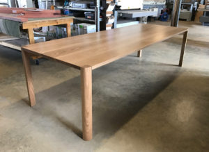 Irvine Dining Table. Solid American Oak 2700 x 1000 x 740mm. North Fremantle, Western Australia