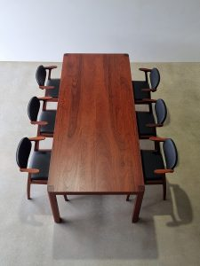 Irvine Dining Table, Handcrafted in Jarrah