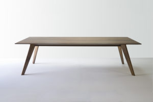 Vista St Dining Table. Solid American Walnut. Handcrafted in Dunsborough, Western Australia