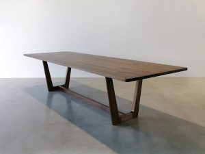 Botanical Dining Table. Handcrafted in American Walnut in the Margaret River Region of Western Australia