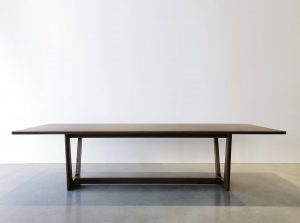 Botanical Dining Table. Handcrafted in American Walnut in the Margaret River Region of Western Australia. 3000 x 1100 x 740mm