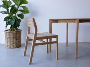 Custom Oak Dining Table and Chairs Mosman Park, Perth Western Australia