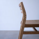 Handcrafted Oak Dining Chair. Mosman Park, Perth Western Australia