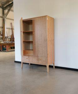 Custom Cabinet in WA Blackbutt and Rock Maple. Dunsborough 2019