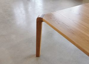 Araluen Dining Table. 4000 x 1100 x 740mm, American Oak with a Hard wax/Oil finish