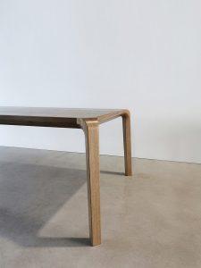 Araluen Dining Table. Corner Leg Detail