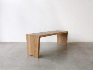 Oak Dovetail Bench Seat