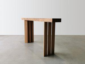 Custom designed Console table. Handcrafted in Australian Sugar Gum